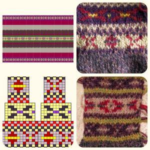 stitch pattern development