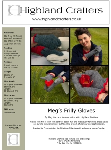 Megs Frill Gloves MMG2UK-1